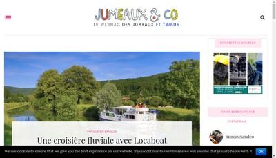 Site internet de Jumeaux And Co