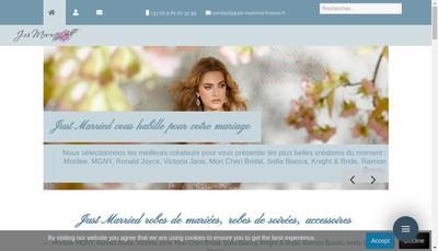 Site internet de Just Married
