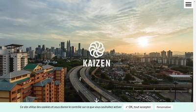 Site internet de Kaizen Solutions