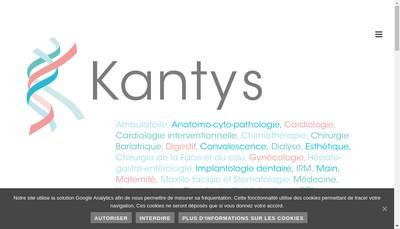 Site internet de Kantys SAS