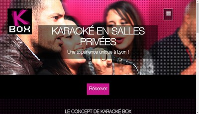 Site internet de K-Box Club