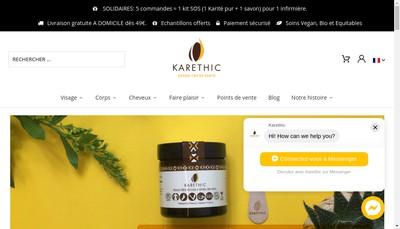 Site internet de Terrethic