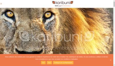 Site internet de Karibuni Services