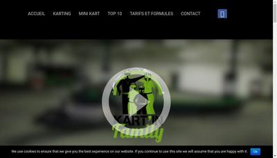 Site internet de Kart' In Family