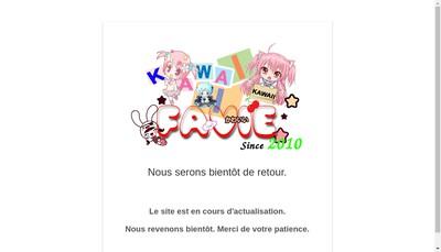 Site internet de Favie
