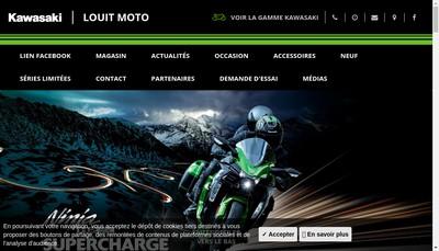 Site internet de Louit Moto