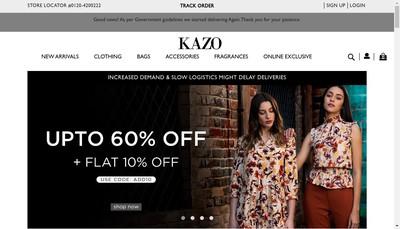 Site internet de Kazo