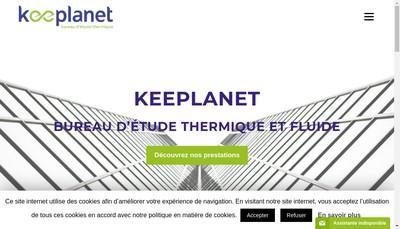 Site internet de Keeplanet