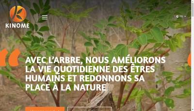 Site internet de Kinome