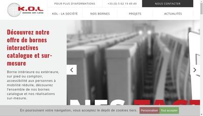 Site internet de Kiosk On Line