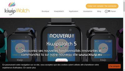 Site internet de Kiwip Technologies SAS