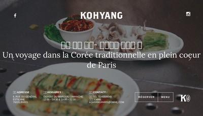 Site internet de Kohyang