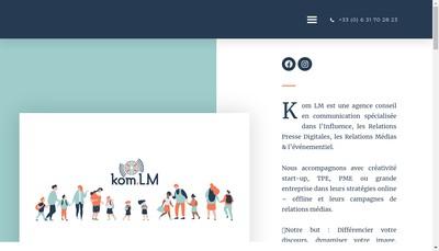 Site internet de Komlm