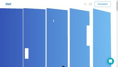 Site internet de Koust