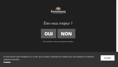 Site internet de Cgie Restaurant Brasseries Kronenbourg