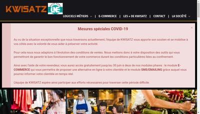 Site internet de Kwisatz Developpement