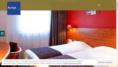Site internet de Hoteliere Rouennaise