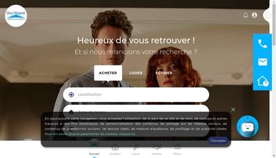 Site internet de Guy Hoquet