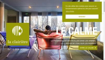 Site internet de Hotel Restaurant la Clairiere