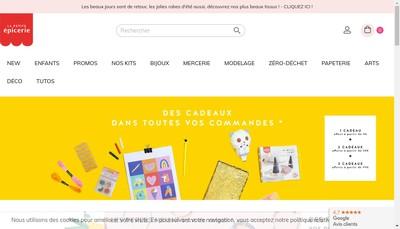 Site internet de La Petite Epicerie