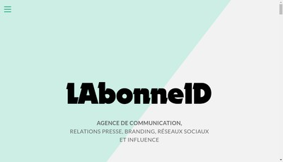 Site internet de Labonneid