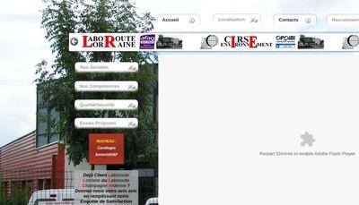 Site internet de Cirse Environnement