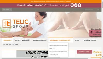 Site internet de Telic France