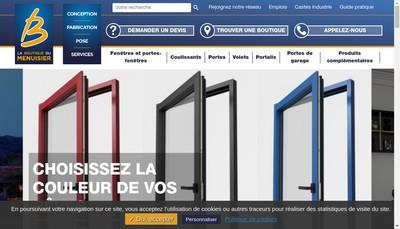 Site internet de Aml - la Boutique du Menuisier