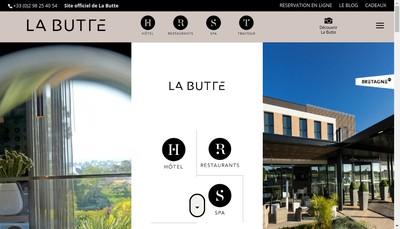 Site internet de Restaurant de la Butte