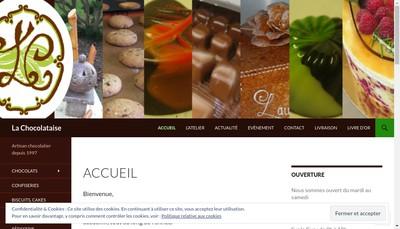 Site internet de La Chocolataise