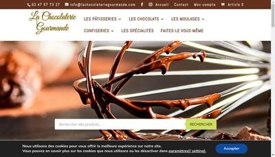 Site internet de La Chocolaterie Gourmande