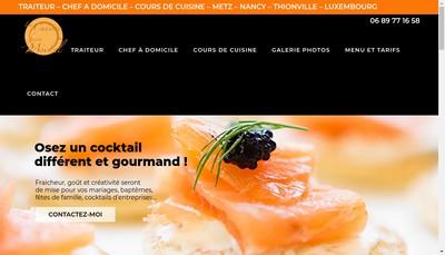 Site internet de La Cuisine Facon Michel