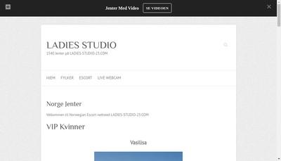 Site internet de Ladies Studio