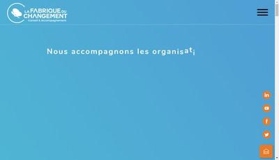Site internet de La Fabrique du Changement