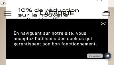 Site internet de Lafaurie SAS