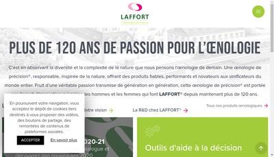 Site internet de Laffort
