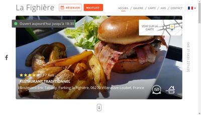 Site internet de La Fighiere