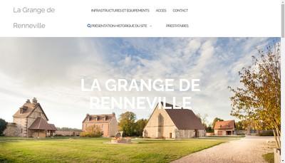 Site internet de La Grange de Renneville