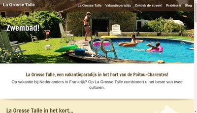 Site internet de La Grosse Talle