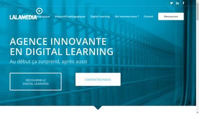 Site internet de Lalamedia
