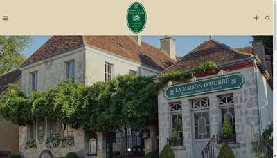 Site internet de La Maison d'Horbe