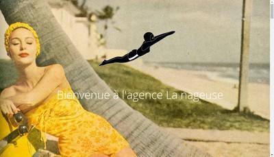 Site internet de La Nageuse