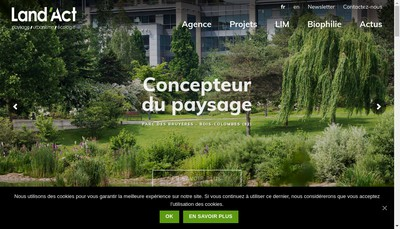 Site internet de Land'Act