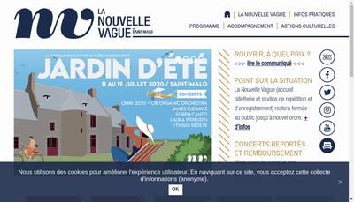 Site internet de La Nouvelle Vague