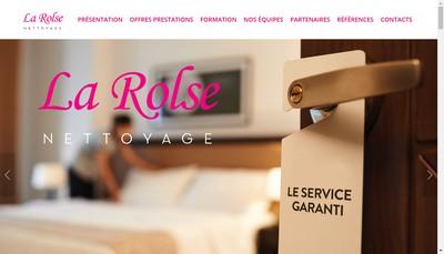 Site internet de La Rolse Nettoyage