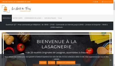 Site internet de Lasagnerie