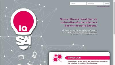 Site internet de La Societe Amicale et Intelligente