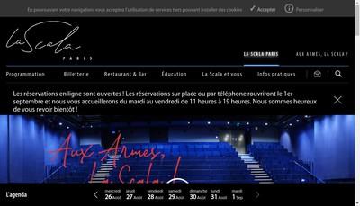 Site internet de La Scala