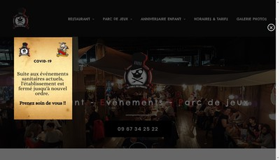 Site internet de Table Pirates-la Recre Moussaillons