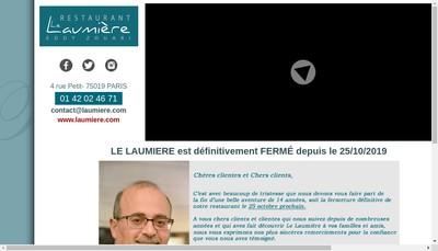Site internet de L'Esplanade